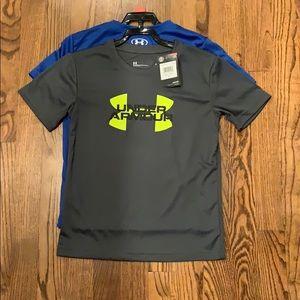NWT Boys Under Armour shirts
